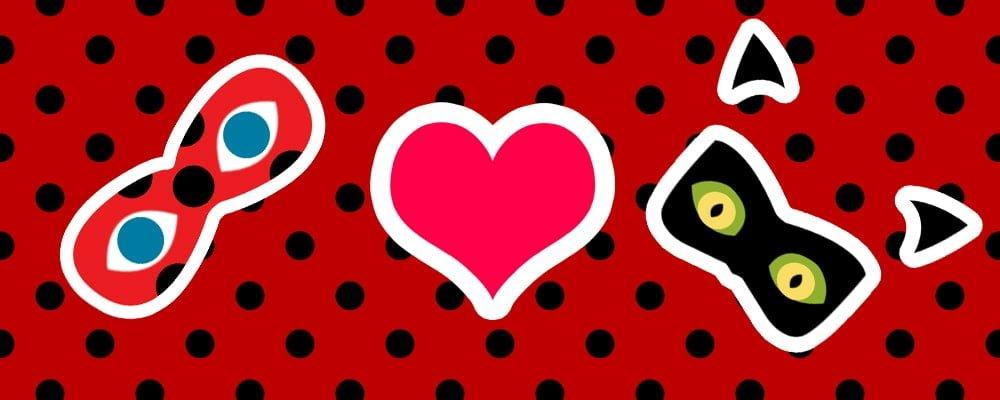 Ladybug embrasse Chat Noir Miraculous